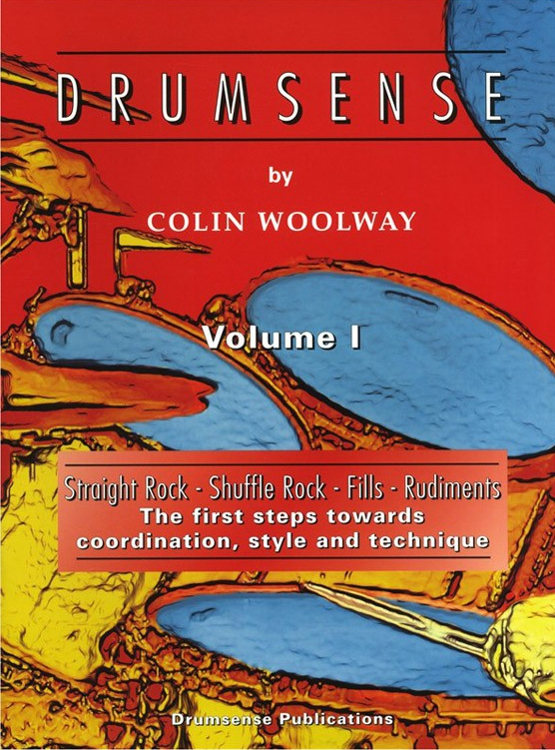 Drumsense Book Volume 1 use by Scott Grant at The Modern Drum for his drum students